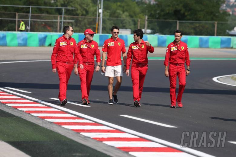 01.08.2019 - Charles Leclerc (MON) Scuderia Ferrari SF90
