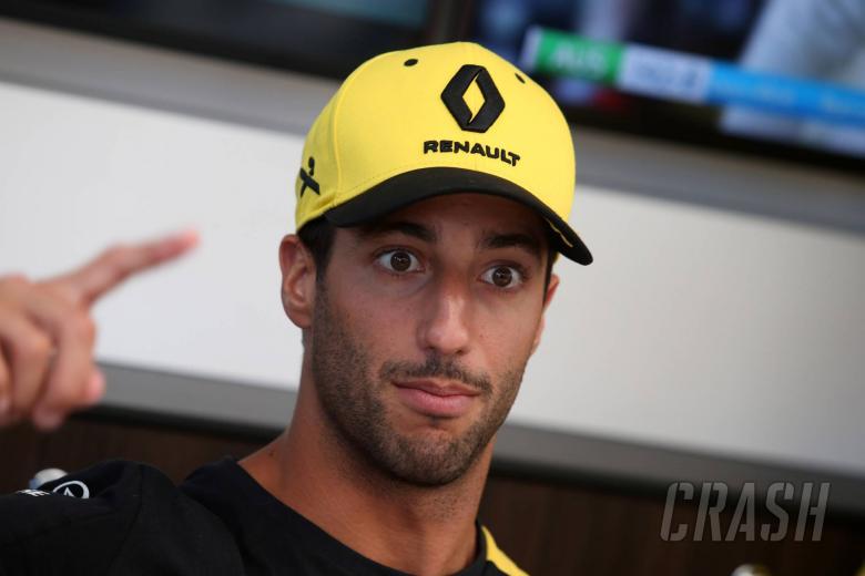 01.04.2019 - Daniel Ricciardo (AUS) Renault Sport F1 Team RS19