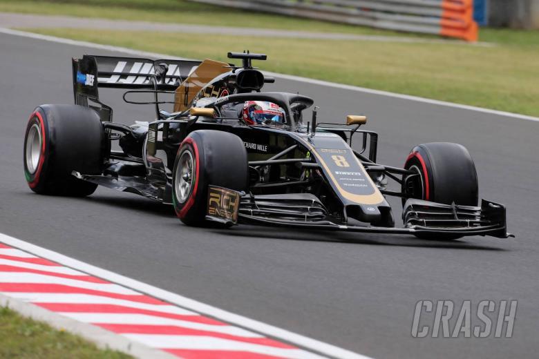 02.08.2019 - Free Practice 1, Romain Grosjean (FRA) Haas F1 Team VF-19