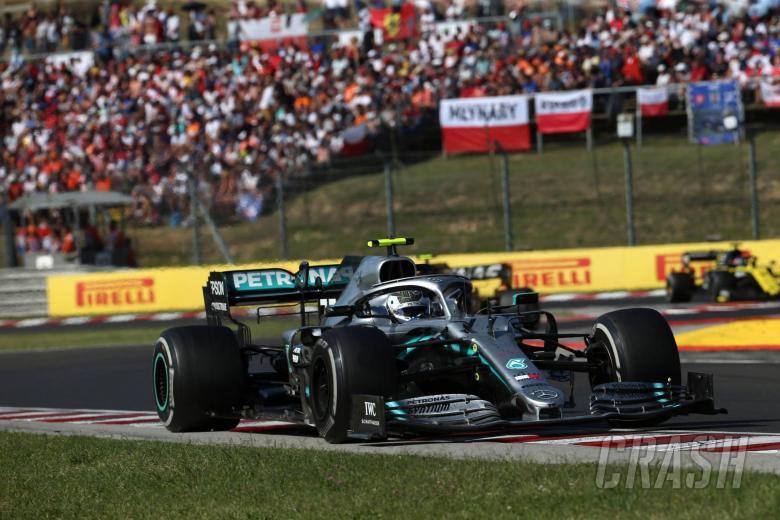04.08.2019 - Race, Valtteri Bottas (FIN) Mercedes AMG F1 W010