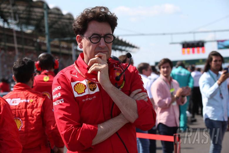 04.08.2019 - Race, Mattia Binotto (ITA) Scuderia Ferrari Team Principal
