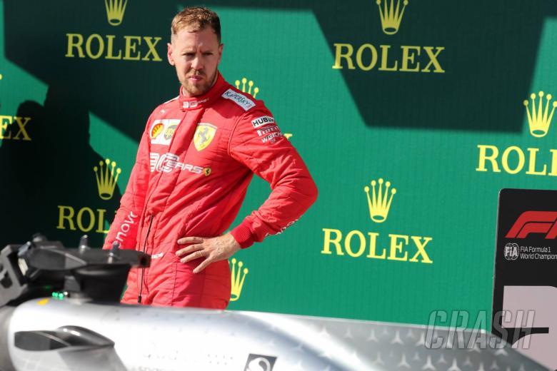 04.08.2019 - Race, 3rd place Sebastian Vettel (GER) Scuderia Ferrari SF90