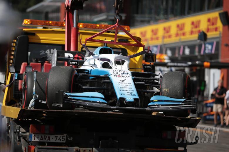 Kubica set to start from pit lane at Belgian Grand Prix