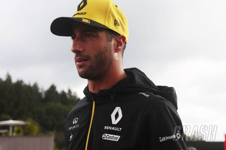 Ricciardo considered not racing in Belgian GP after Hubert accident