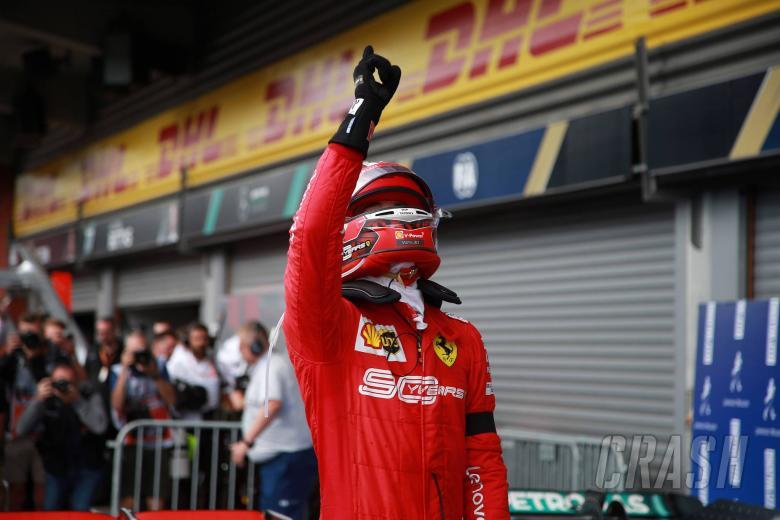 01.09.2019 - Race, Charles Leclerc (MON) Scuderia Ferrari SF90 race winner