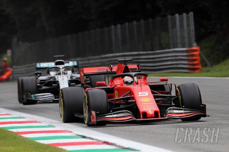 Small gap to Ferrari at Monza 'surprising' - Hamilton