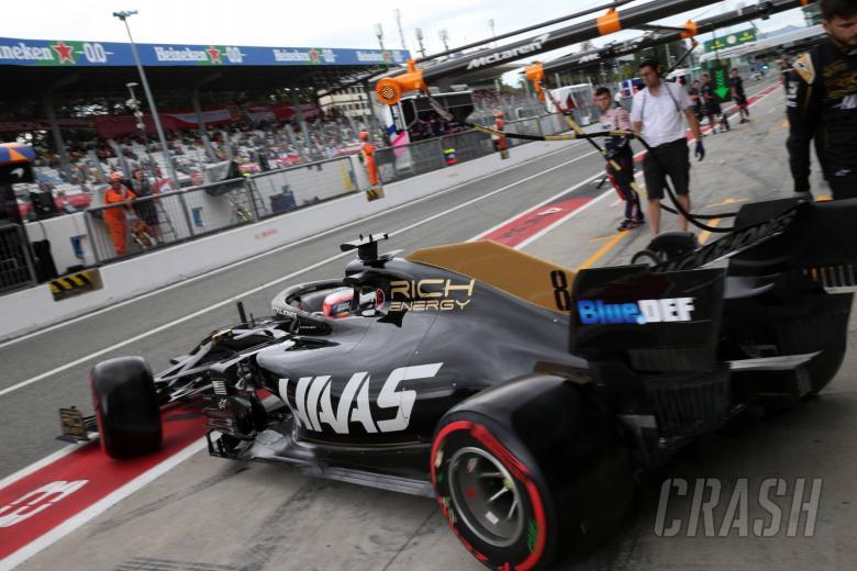 06.09.2019 - Free Practice 2, Romain Grosjean (FRA) Haas F1 Team VF-19