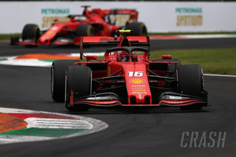 Leclerc mencetak pole GP Italia saat kualifikasi berakhir dengan lelucon
