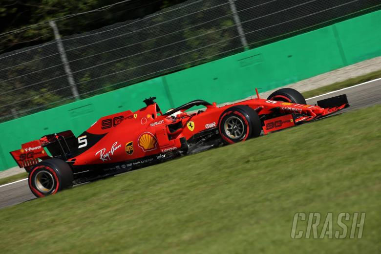 07.09.2019 - Qualifying, Sebastian Vettel (GER) Scuderia Ferrari SF90