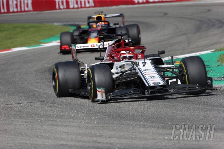 08.09.2019 - Race, Kimi Raikkonen (FIN) Alfa Romeo Racing C38