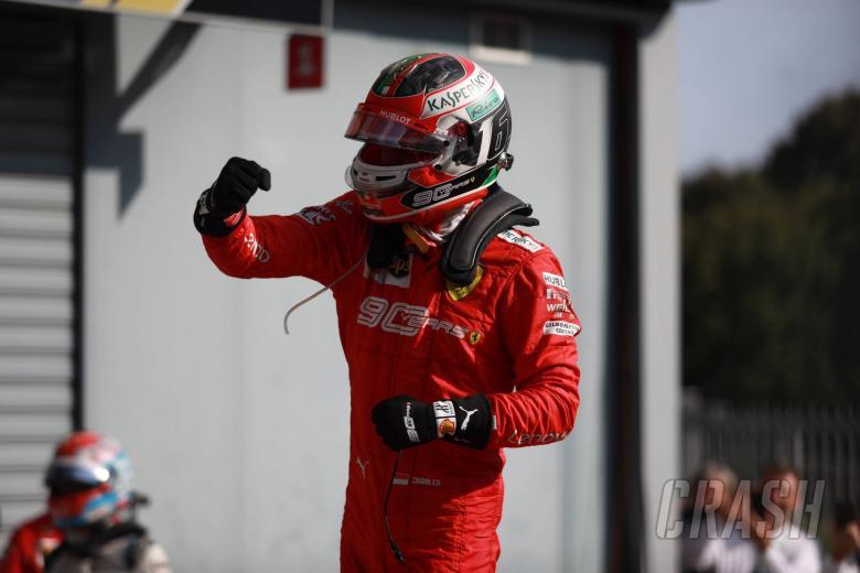 08.09.2019 - Race, Charles Leclerc (MON) Scuderia Ferrari SF90 race winner