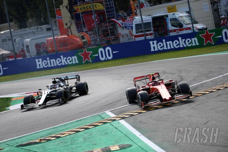 08.09.2019 - Race, Lewis Hamilton (GBR) Mercedes AMG F1 W10 and Charles Leclerc (MON) Scuderia Ferrari SF90