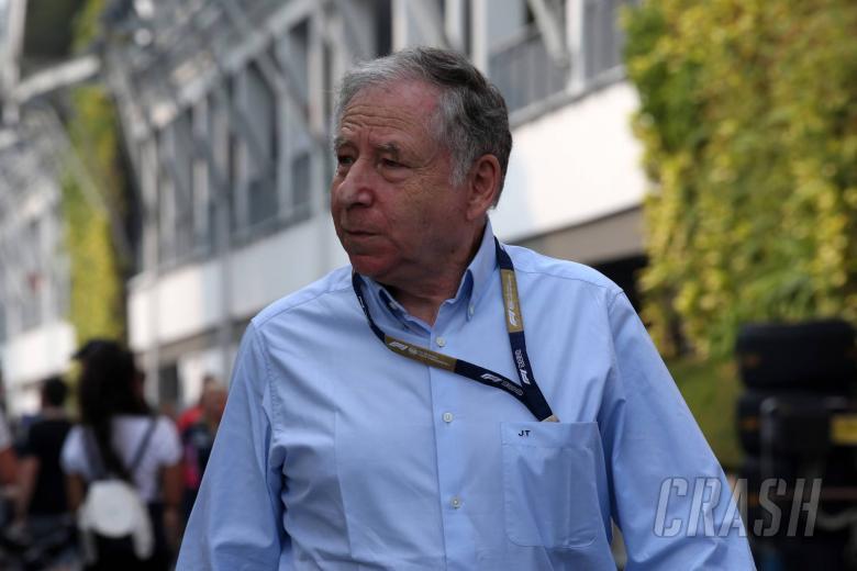 22.09.2019 - Jean Todt (FRA), President FIA