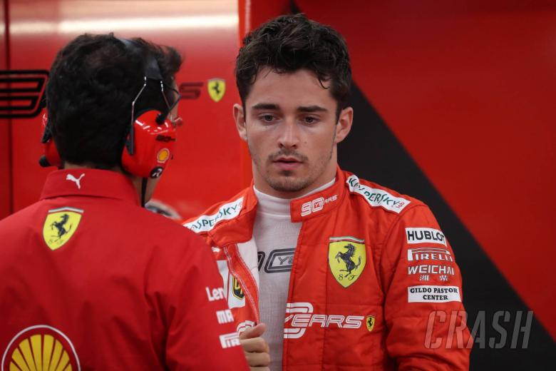 Leclerc mengaku bereaksi berlebihan dalam pesan radio Singapura