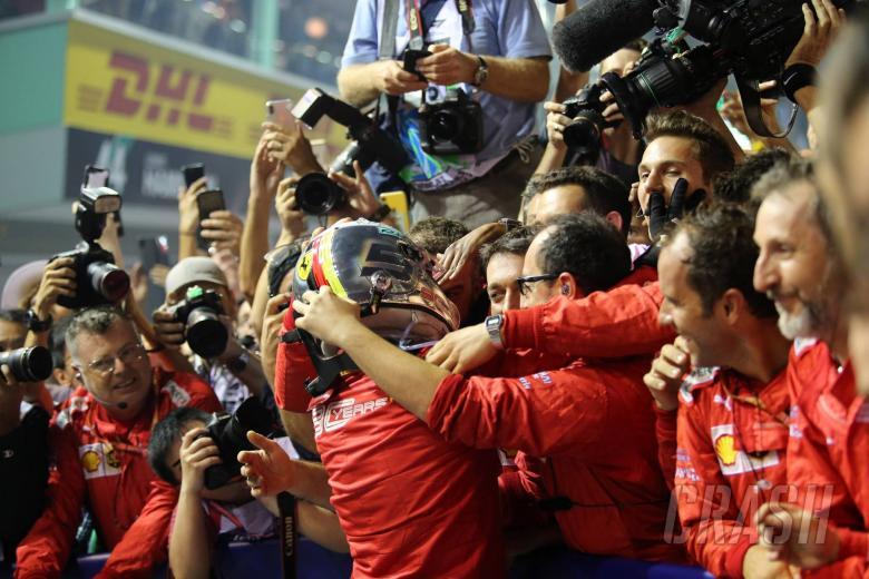 Binotto: Genuine and straightforward Vettel is why Ferrari loves him