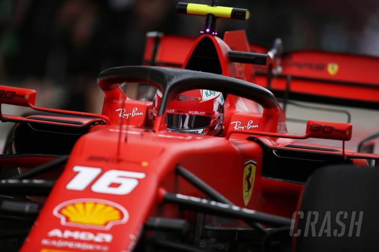 Leclerc leads Ferrari 1-2 in final Russian GP practice