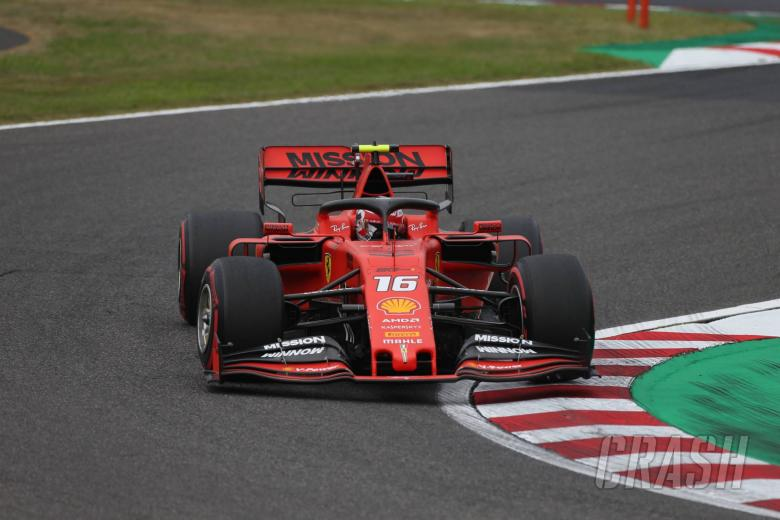 Leclerc surprised by Ferrari's lack of pace at Suzuka
