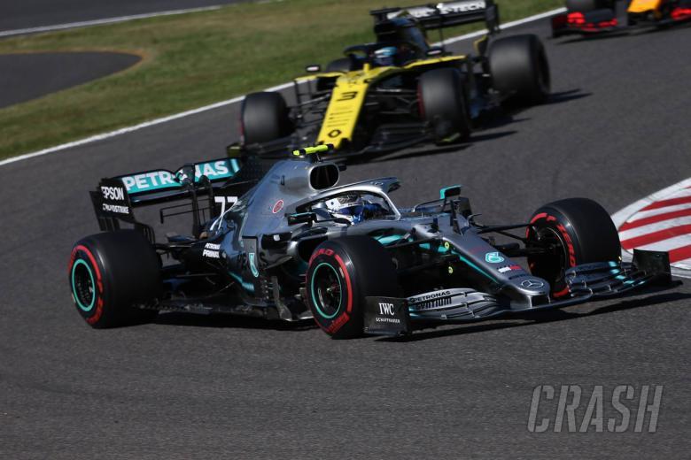 Bottas scores dominant Japanese GP victory, Mercedes seals title