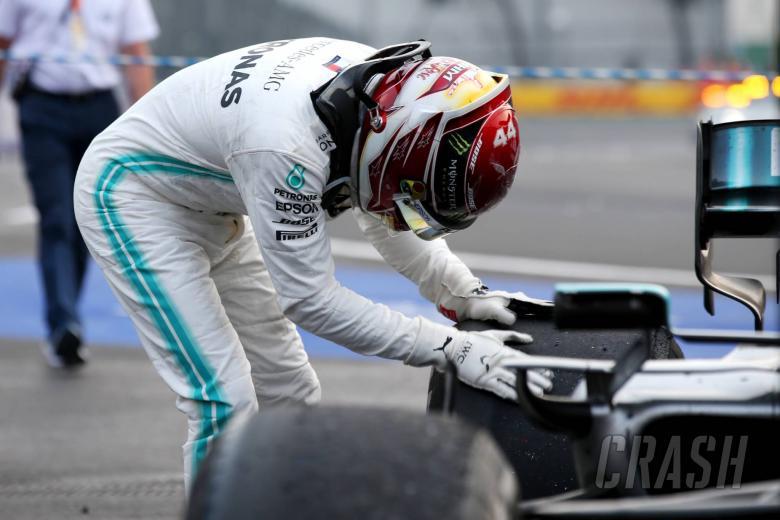 Mercedes reveals extent of damage to Hamilton's car