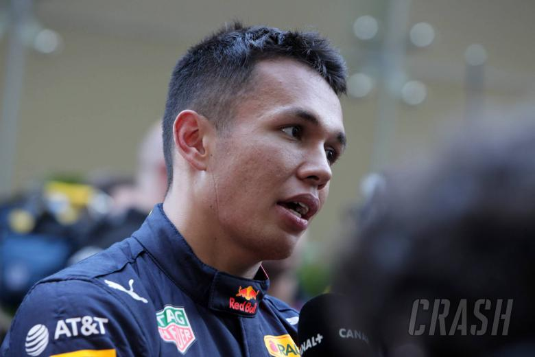 """Albon wants to make """"good foundations ready for 2020"""" at Red Bull"""
