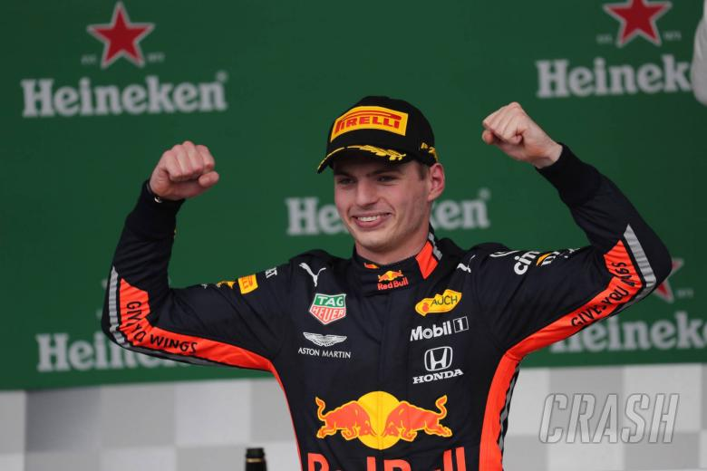 17.11.2019 - Race, Max Verstappen (NED) Red Bull Racing RB15 race winner