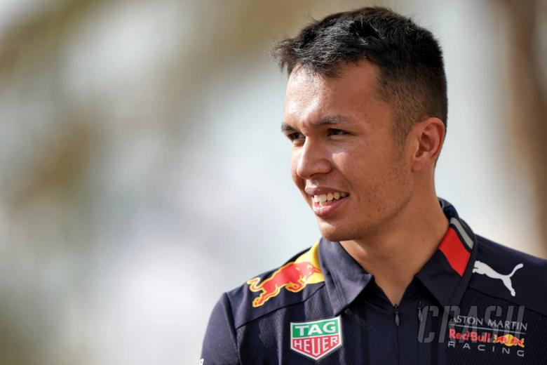 Albon crowned Rookie of the Year at FIA prize giving gala
