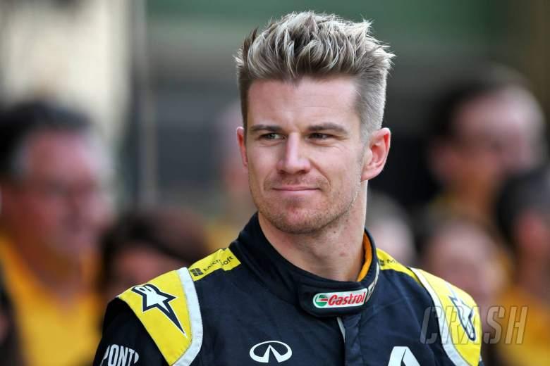 Nico Hulkenberg (GER) Renault F1 Team at a team photograph. 01.12.2019.