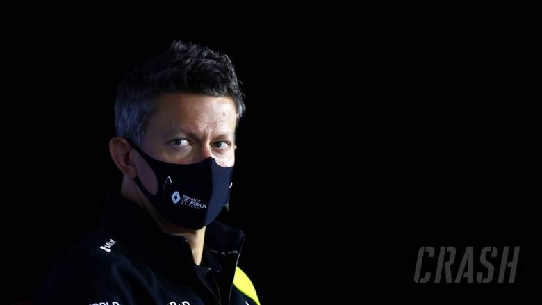 Marcin Budkowski (POL) Renault F1 Team Executive Director in the FIA Press Conference.