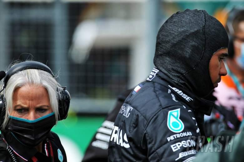 Hamilton membidik F1 dan Grosjean setelah sikap rasisme 'terburu-buru'