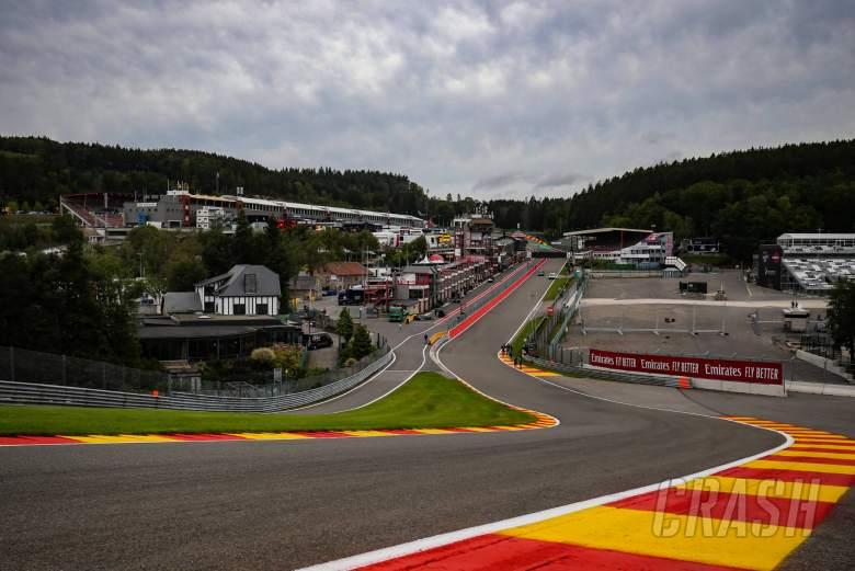 F1 team motorhomes return for Belgian GP