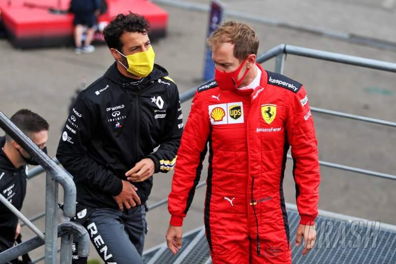 Ricciardo dan Vettel tidak akan mendapatkan tes mobil F1 berusia dua tahun sebelum 2021