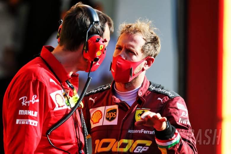 Sebastian Vettel (GER) Ferrari.