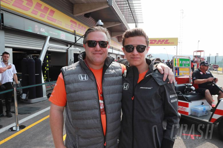 F1: Zak Brown confident Lando Norris is ready for F1