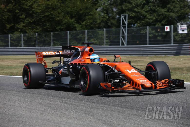 F1: Alonso: McLaren has 'real chance' at Singapore