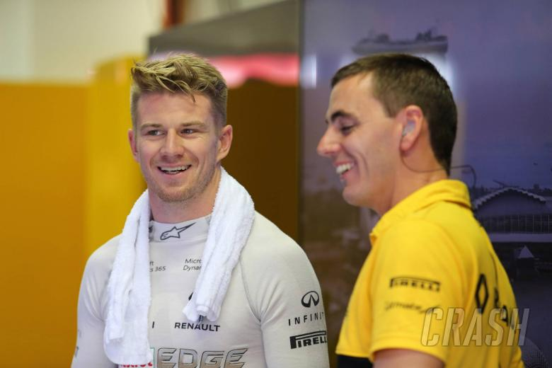 F1: Hulkenberg: Renault F1 has exceeded expectations in 2017