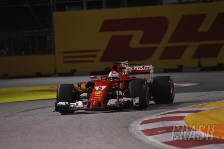 F1: Singapore Grand Prix - Qualifying results