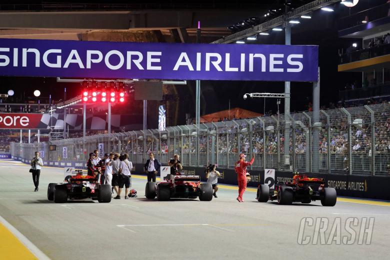 2017 Singapore Grand Prix - Starting Grid