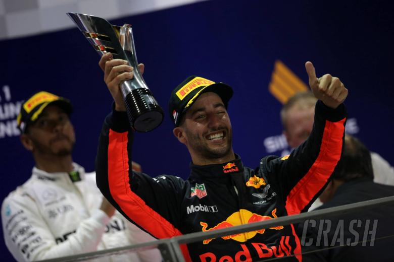 F1: Formula 1 Gossip: Car plays a big part in Hamilton victories, says Ricciardo
