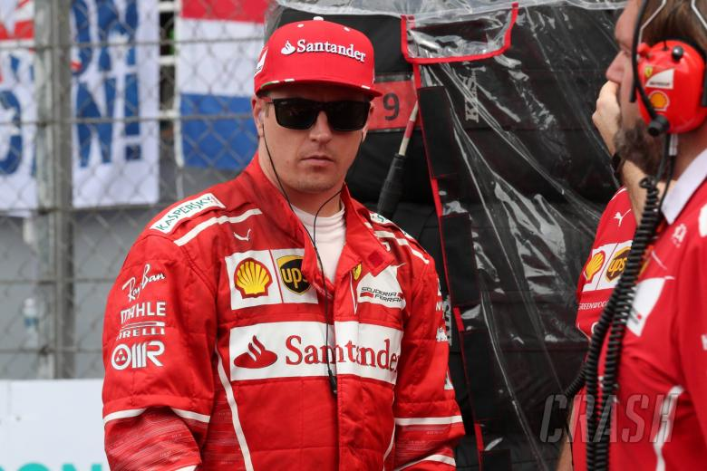 Kimi Raikkonen gets penalty for Ferrari gearbox change