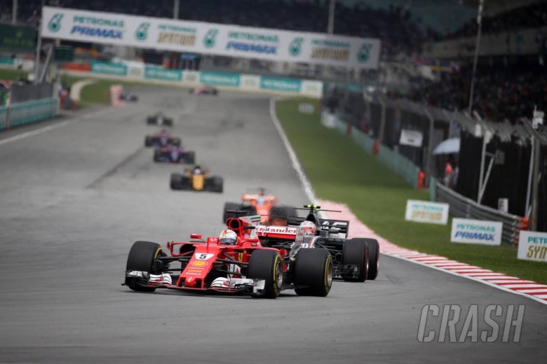 Vettel: Ferrari's speed 'promising' heading towards title run-in