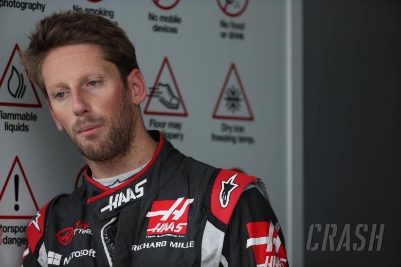 Grosjean: Top ten was possible before crash…