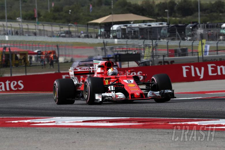 F1: Vettel hails confidence in Ferrari race pace from P2 on grid at COTA