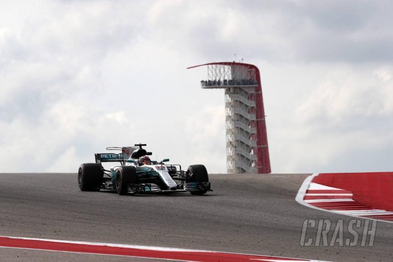 F1: Hamilton completes US GP practice hat-trick in FP3