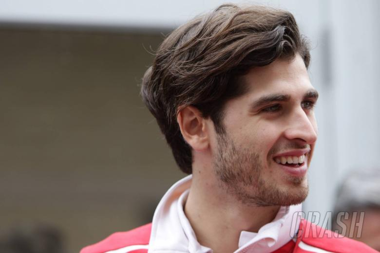 F1: Giovinazzi facing second year without racing programme