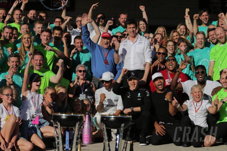F1: Mercedes wraps up 2017 F1 constructors' title at US GP