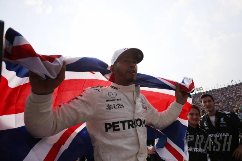 F1: Hamilton in disbelief over fourth F1 title win in Mexico