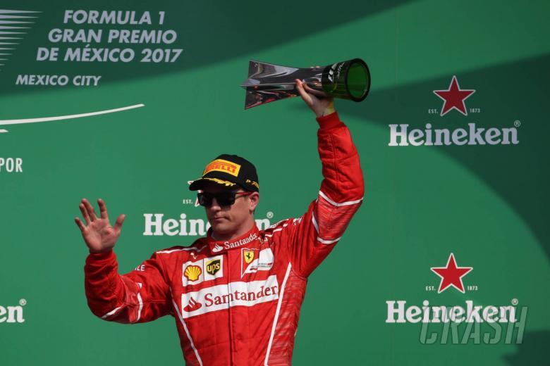 F1: Raikkonen happy with Mexico podium after 'disaster' start