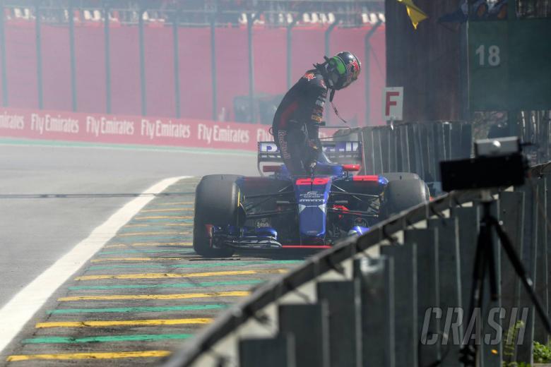 10.11.2017 - Free Practice 1, Brendon Hartley (NZL) Scuderia Toro Rosso STR12