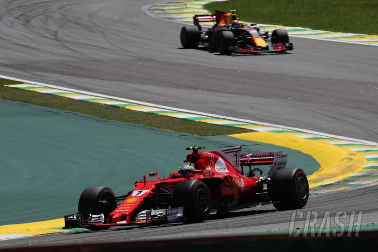 F1: Raikkonen comfortable against Hamilton in 'boring' Brazil GP