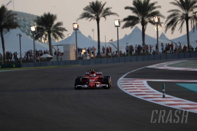 F1: Raikkonen tops opening day of Abu Dhabi F1 test